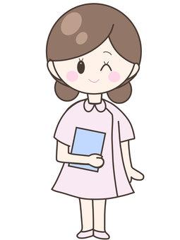 Nurse _ chart _ whole body