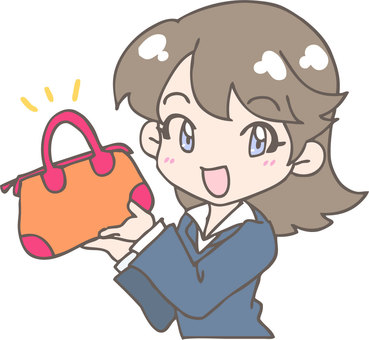Bag and ladies