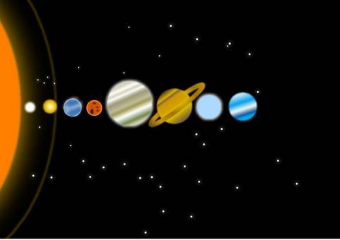 The solar system is a star