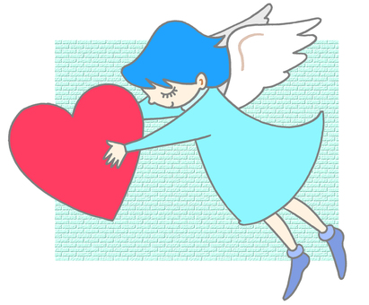 Heart and angel.5