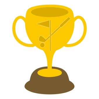 Trophy Cup 03 Golf