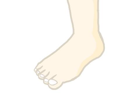 Right foot 01
