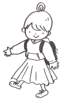 Fashionable kids girls
