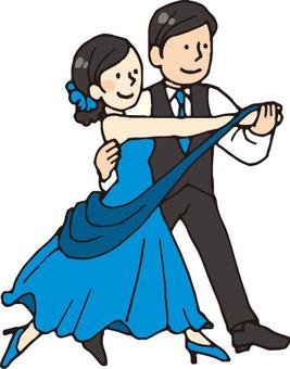 Ballroom dance (youth / blue)