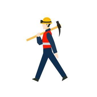 Walking workers