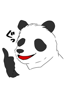 Doya face panda