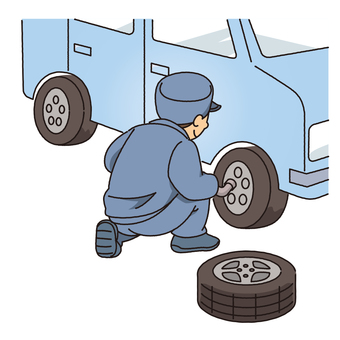 Tire exchange
