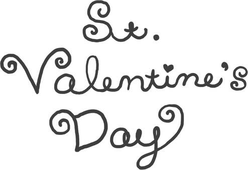 Valentine's letter (cursive)