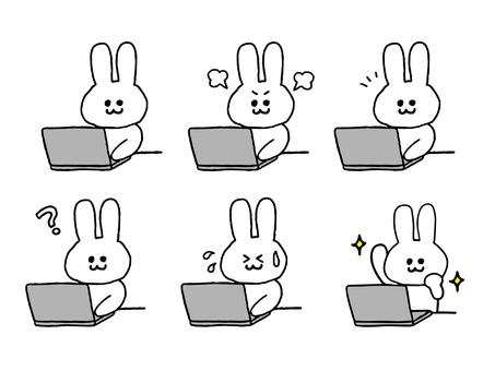 Rabbit set to work PC (simple)