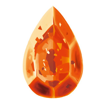 Gemstone type (orange)