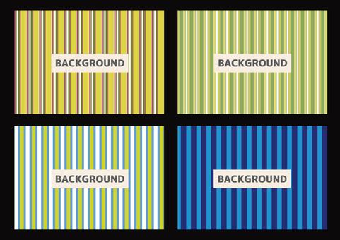 Card-striped thin wire 11