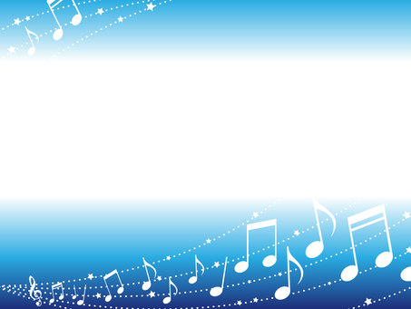 Musical note illumination frame