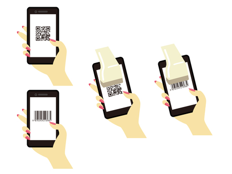 2 places to read qr code and barcode