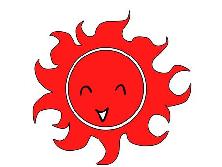 Laughing sun