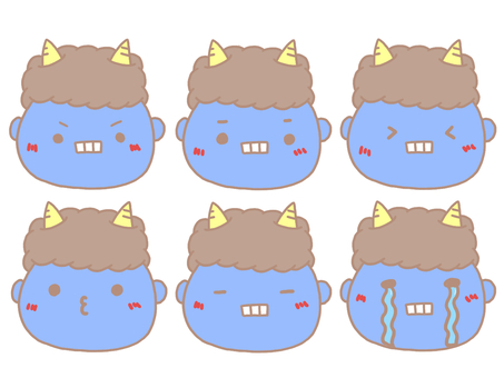 Aooni 6 expressions
