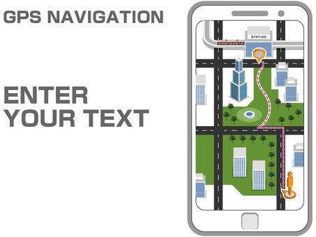 Smartphone GPS navigation