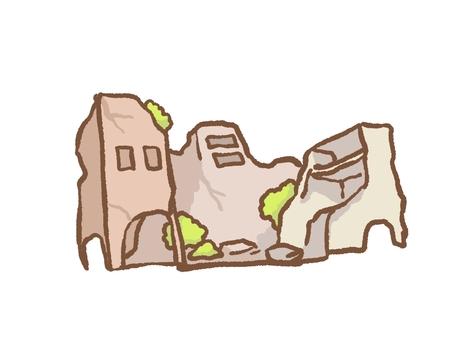 廢棄的建築物