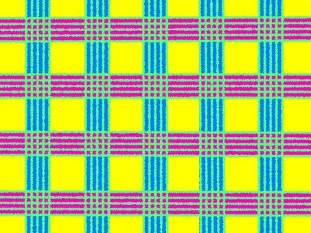 Japanese Pattern 03 (Pink × Blue)