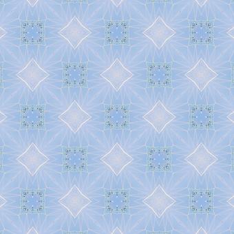 A light blue square