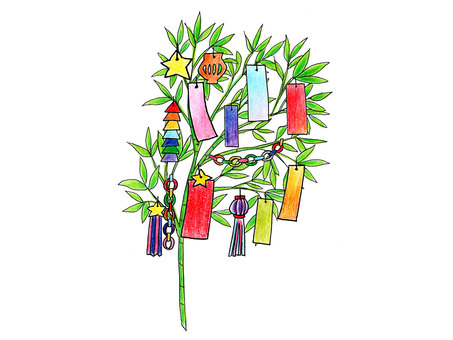 Tanabata Decoration (Completed)