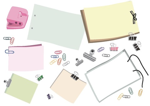 Stationery and memos