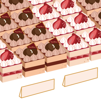 Cakes queued at stores