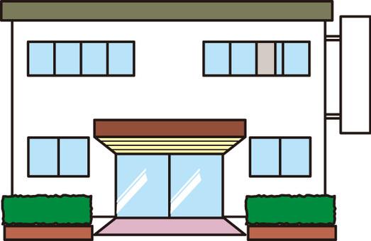 中小企業風建物