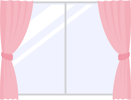 Curtain _ Pink