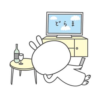 Yuru Chara Rabbit Relax