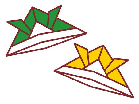 Children's Day origami kite