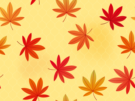 Wallpaper leaves 02 Hikaru Pu can (background)