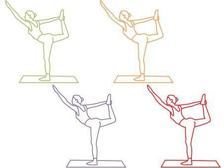 Women who do yoga 2
