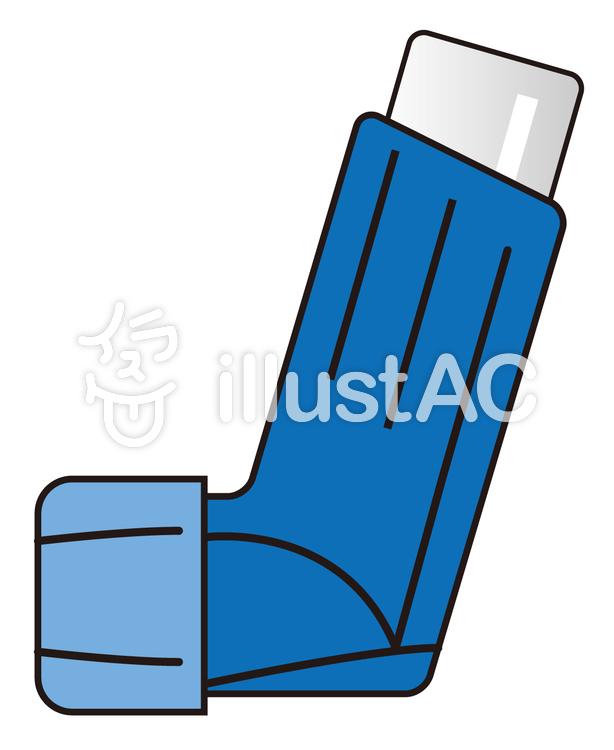 吸入器のイラスト