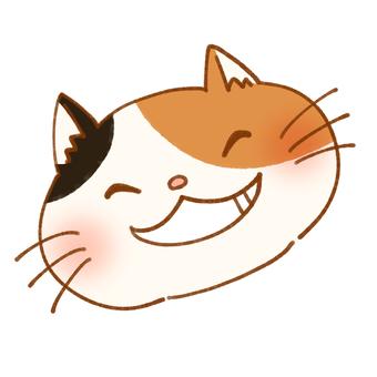 Smiley Nyanko (Mikane cat)