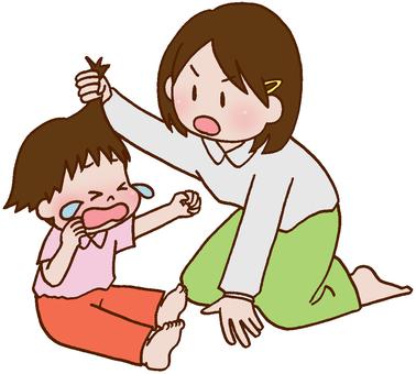 Brotherhood fighting, fighting, sister fighting