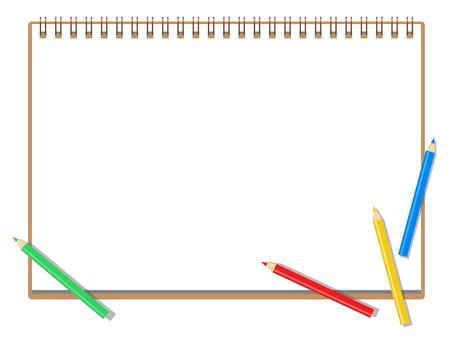 スケッチブック_色鉛筆