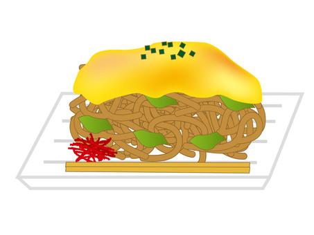Homme fried noodles