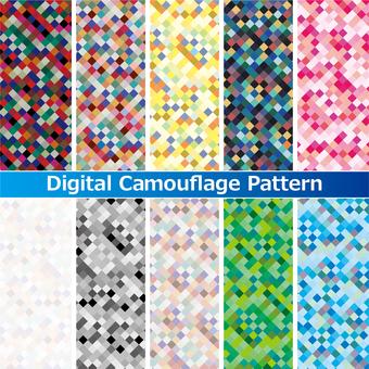 Digital Camouflage Watch Patterns