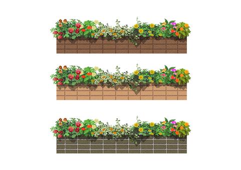 Flower bed 006