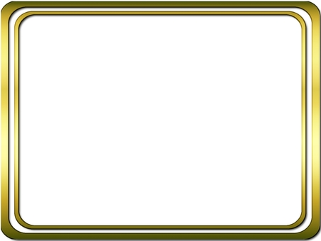 Gold frame (rounded corner)