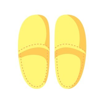 Slippers (yellow)