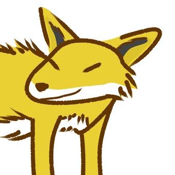 Fox face 02