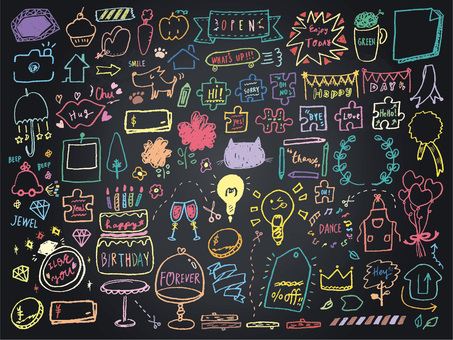010 Blackboard Art Frame Callout