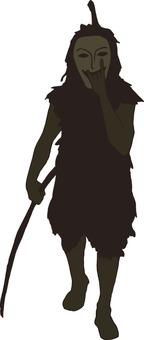 Pantou's silhouette