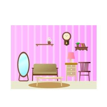 少女的房間