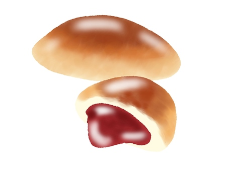 Jam bread (no main line)