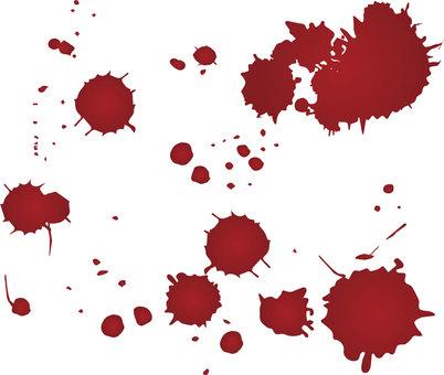 Blood droplets 02