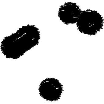 바이러스의 이미지 바람 잉크 보노보노 たおち