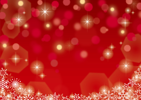 Christmas sparkling background red