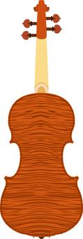 바이올린 뒷면